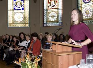 2011 Valedictorian – Rachel Morrison