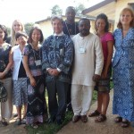 M and Mme Laramee HC Canada with Bamenda team and U of T students Dec 2012
