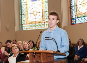 2014 Valedictorian – Eric Smart