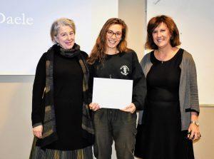 Image of Prof. Susan Rappolt, Laura van Daele, and Prof. Jill Stier