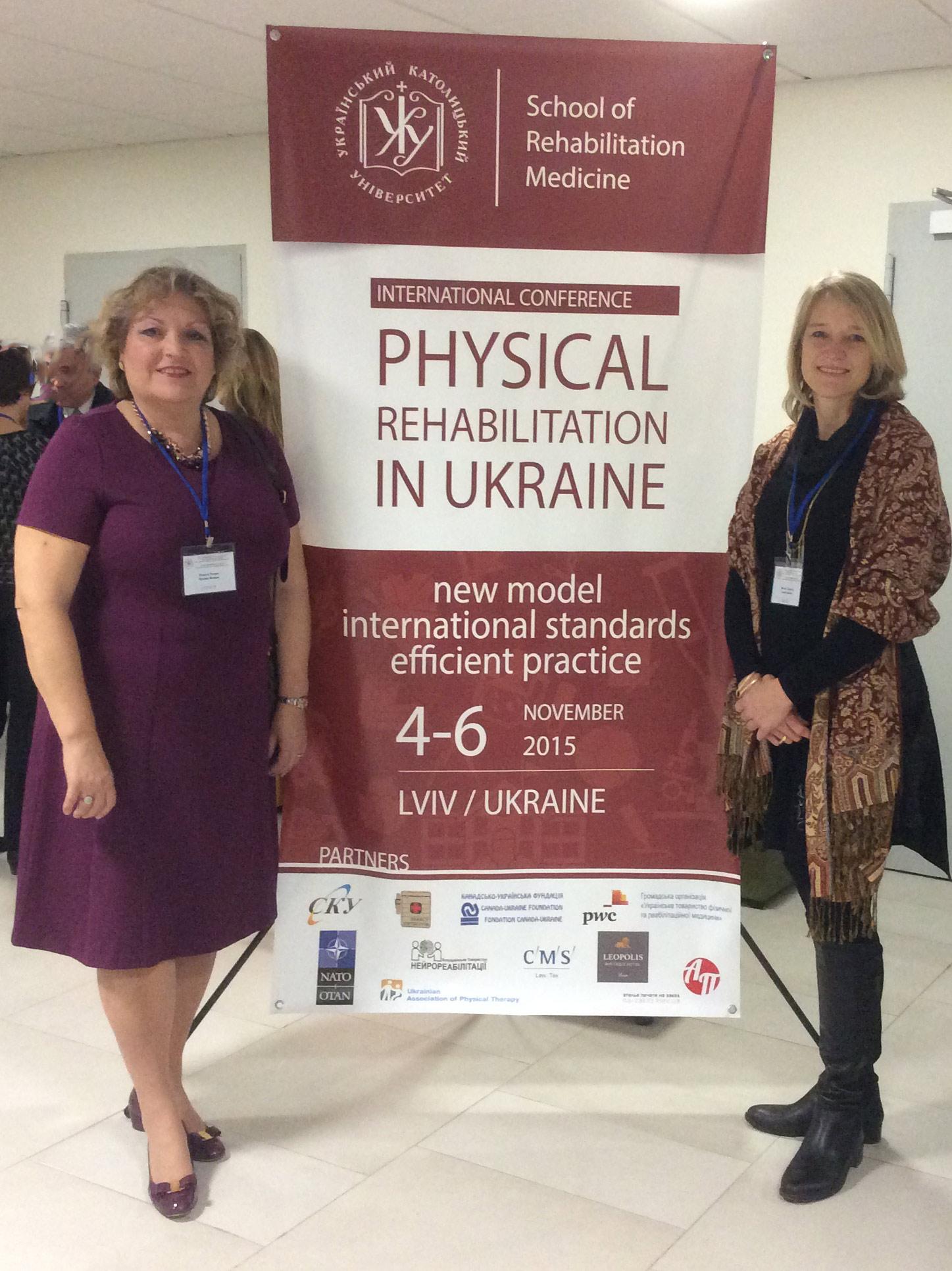 Alumni Promoting OT & PT in Ukraine