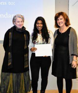 Image of Prof. Susan Rappolt, Jenany Jeyasundaram, and Prof. Jill Stier